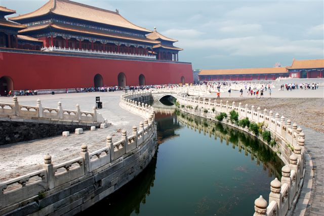 inside emperor palace museum in beijing