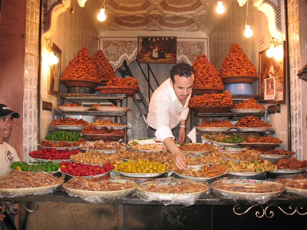 ריחות וטעמים במרוקו
