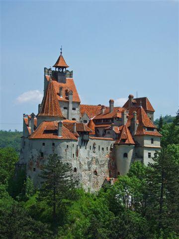 Dracula medieval castle Bran - Romania, Transilvania