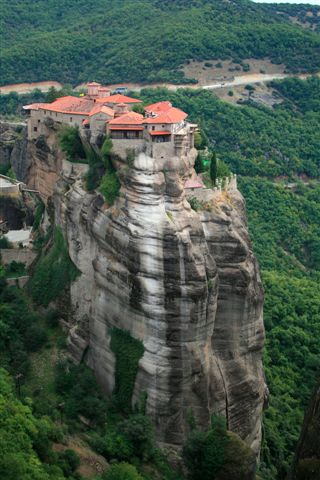 This is one of Meteora's monastery