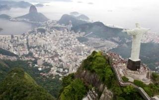 ברזיל - ריו דה ז'נירו - מעוף הציפור