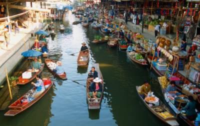 תאילנד - השוק הצף