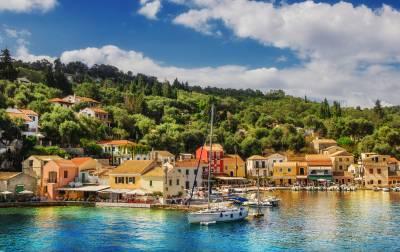 יוון - פקסוס - נוף