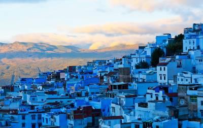 מרוקו - עירה כחולה