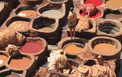 מרוקו - פס מייכלי צבע