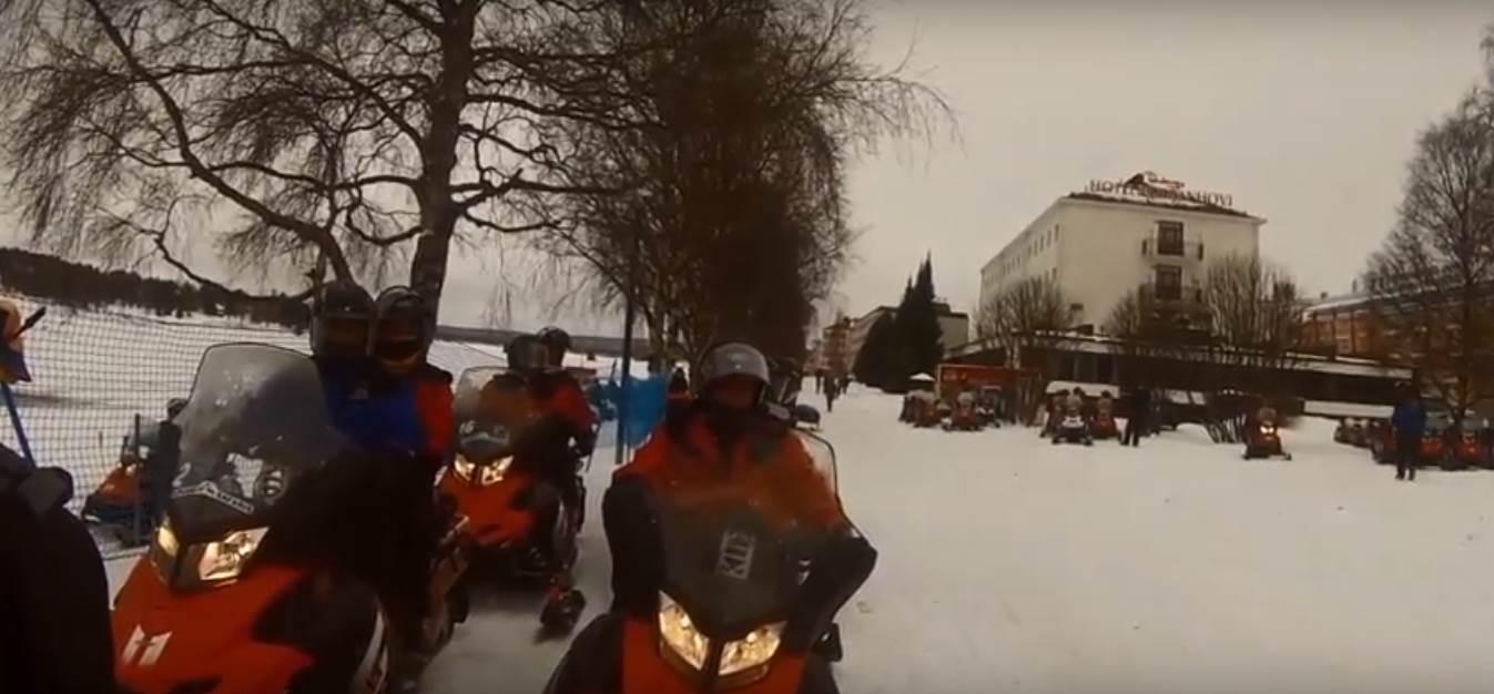 לפלנד- אופנועי שלג